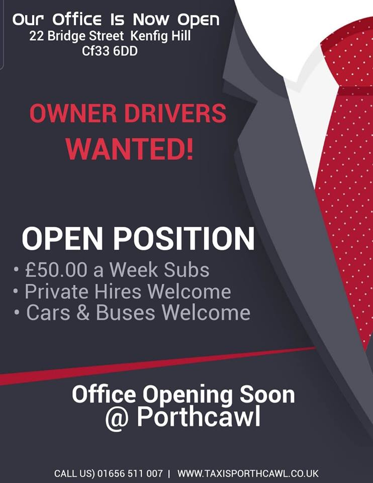 Dial a Cab Owner Drivers Needed