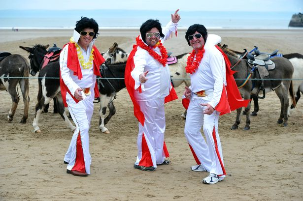 Elvis seen in Porthcawl?