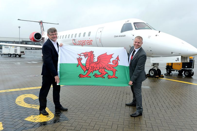 Porthcawl Taxi and Loganair to Glasgow